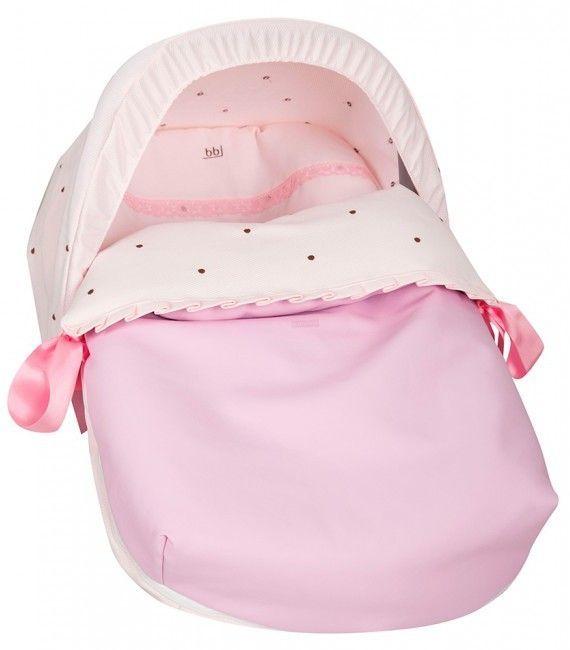 Saco de porta bebe nuevo bodoque rosa babyline capota no - Sacos para portabebes ...