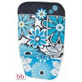 funda silla flores turquesa 650x650