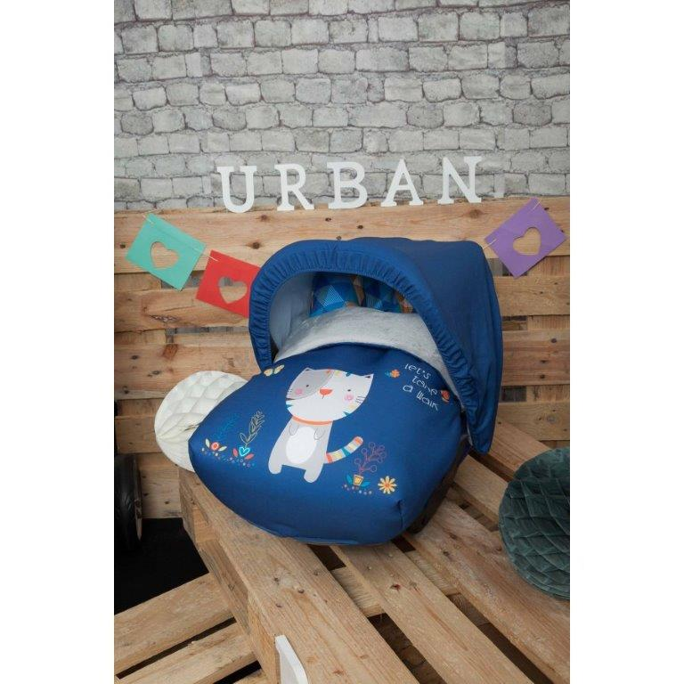 Saco portabebe kitty azul comprar online en - Sacos para portabebes ...