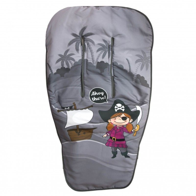 Saco de silla de paseo Babyline Barco Pirata Chica