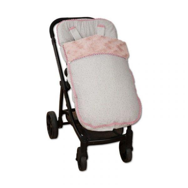 SACO SILLA BABY ROSA 2