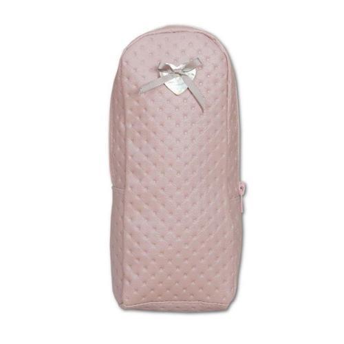 portabiberon letto rosa