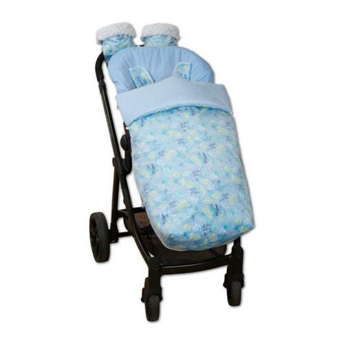 saco de silla con manoplas garden azul