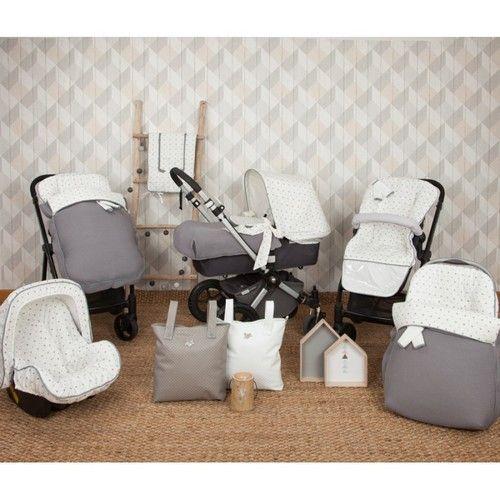 saco silla little star gris 3