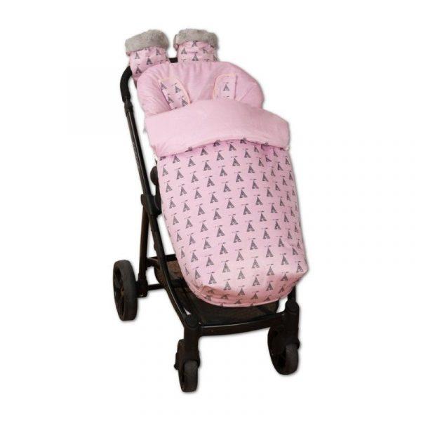 saco silla tepee rosa