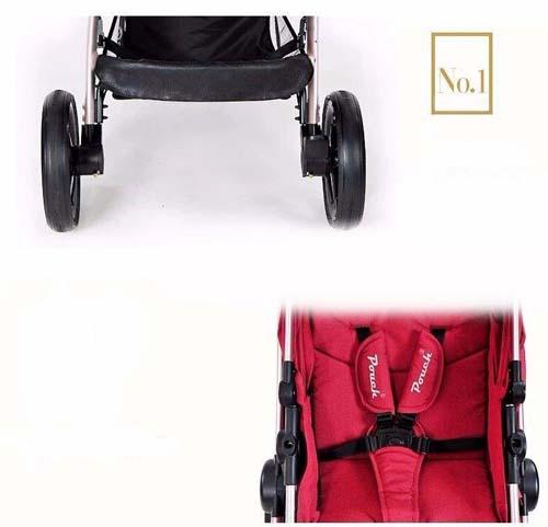 Carro de 2 piezas Luka rojo 8