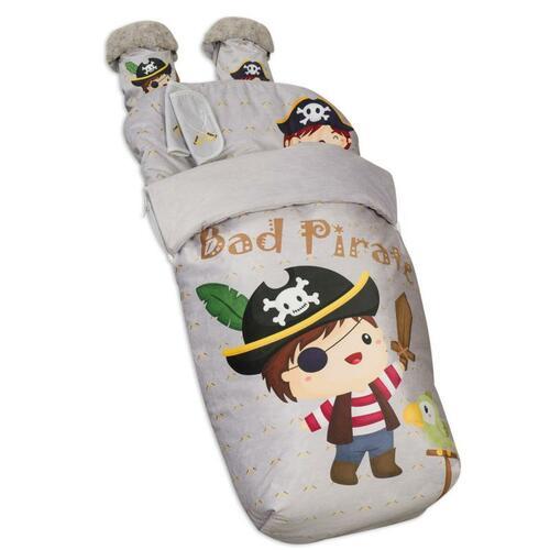 Saco de silla con manoplas Bad Pirate