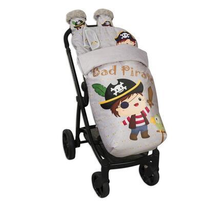 Saco de silla con manoplas Bad Pirate 2