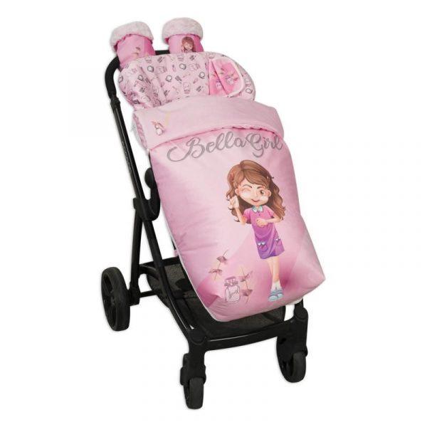 Saco de silla con manoplas Beauty Girl 2