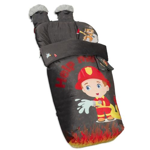 Saco de silla con manoplas Fireman