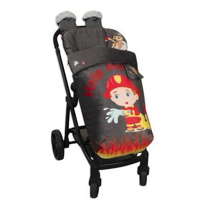 Saco de silla con manoplas Fireman 2