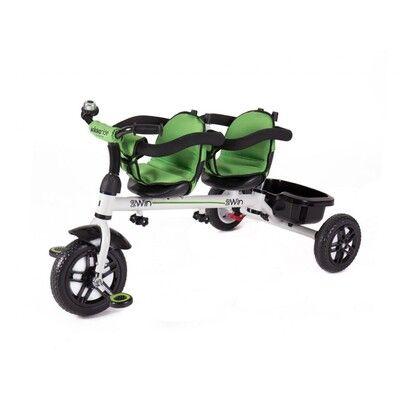 Triciclo 3 en 1 2Win verde 3