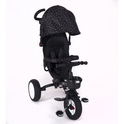 Triciclo 3 en 1 Dotty negro