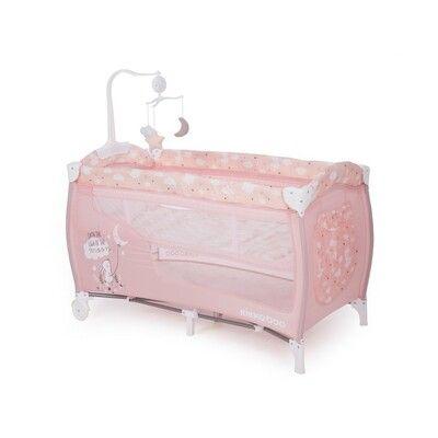 Cuna de viaje Doce Sonno Pink Rabbits 3