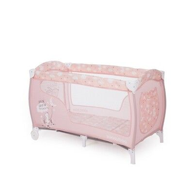 Cuna de viaje Doce Sonno Pink Rabbits 5