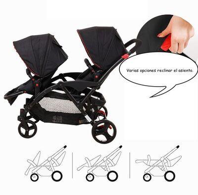 Carrito gemelar Two Babies 10
