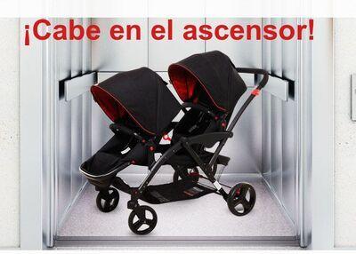 Carrito gemelar Two Babies 17