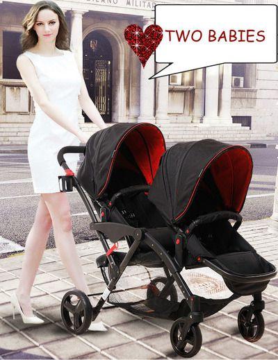 Carrito gemelar Two Babies 2