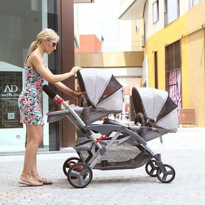 Carrito gemelar Two Babies 3