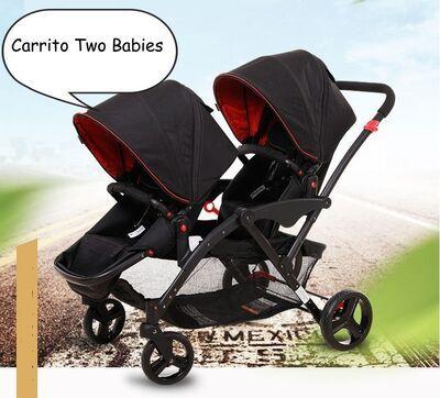 Carrito gemelar Two Babies 5