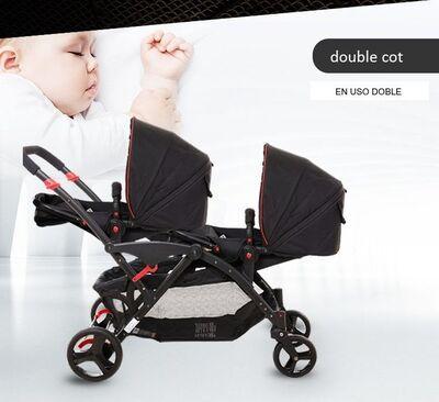 Carrito gemelar Two Babies 6