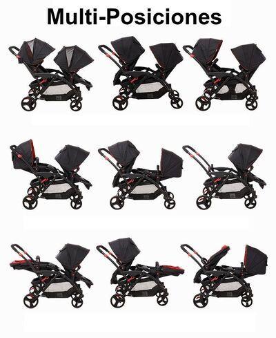 Carrito gemelar Two Babies 9