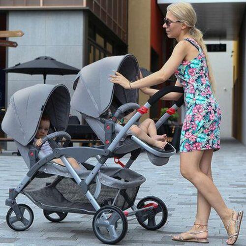 Carrito gemelar Two Babies