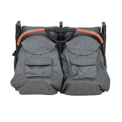 Silla gemelar City con saco gris 5