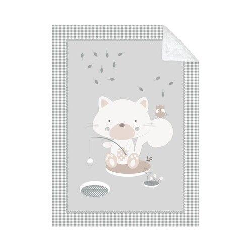 Mantita para bebe super suave sherpa 3